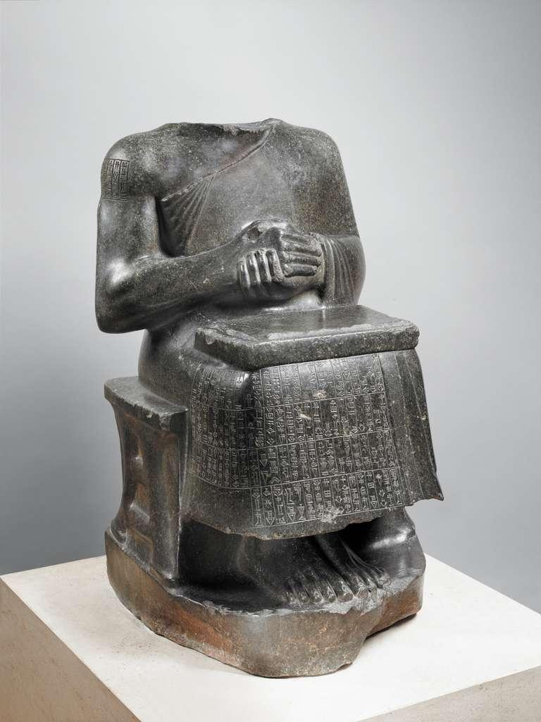 Statue of Prince Gudea as Architect