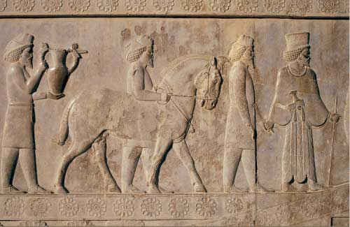 Achaemenid king