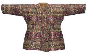child's silk coat, 8th century